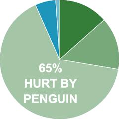 פגיעה מגוגל פינגווין