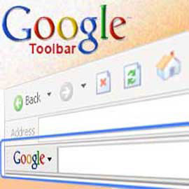 סרגל הכלים של גוגל