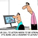 מהי הנעה לפעולה (CTA)  ? – מדריך אופטימיזציה של יחסי המרה – חלק 2